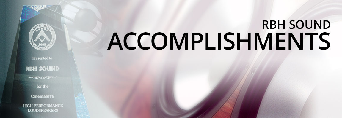 RBH Sound Accomplishments Page Banner Image