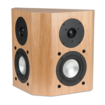 44-SE red birch speaker with no grille