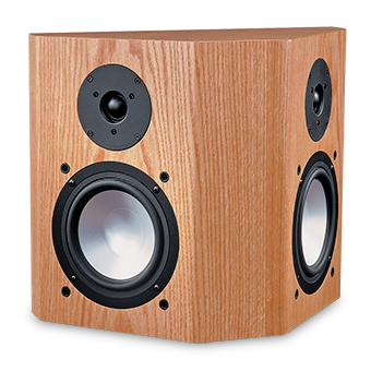 66-SE Oak Speaker With No Grille