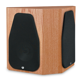 66-SE Oak Speaker With Grille