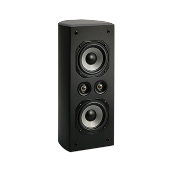 Vertical AC-525 Black Speaker With No Grille