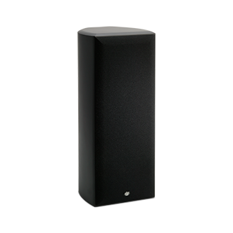 Vertical AC-525 Black Speaker With Grille