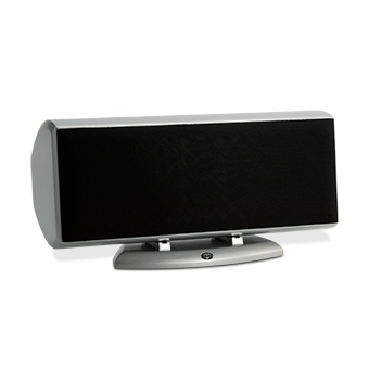Horizontal AC-525 Silver Speaker With Grille