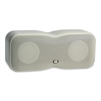 MM-4 bookshelf speaker in white
