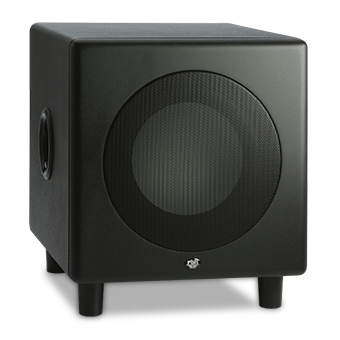 MS-8.1 subwoofer in black.