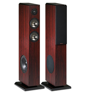 Pair of F300T in a Rosewood Finish