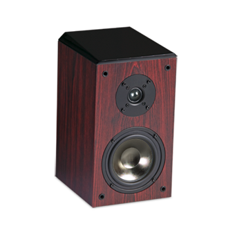 EF30 Bookshelf Speaker, Rosewood without Grille