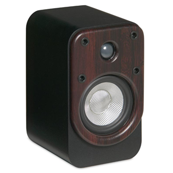 EF50 Bookshelf Speaker, Rosewood, without Grille