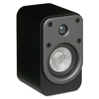 EF50 Bookshelf Speaker, Silver, without Grille