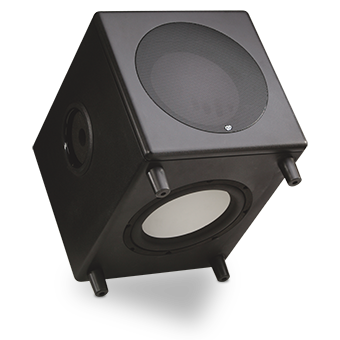 MS-10.1 Powered Subwoofer, Tilted