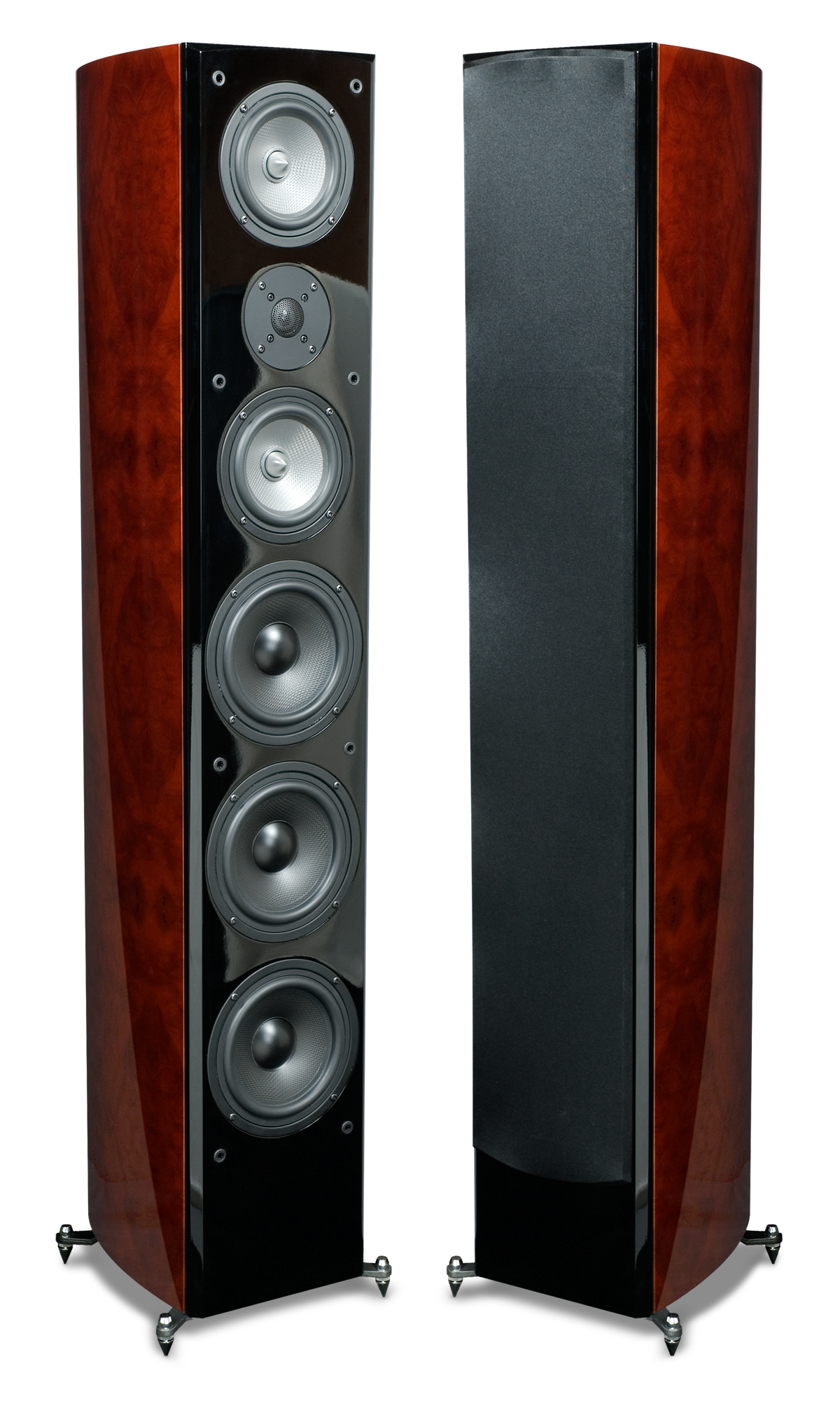 rbh sound r55ti tower speakers. Black Bedroom Furniture Sets. Home Design Ideas