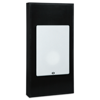 SI-740/R In-wall Speaker, with White Grille