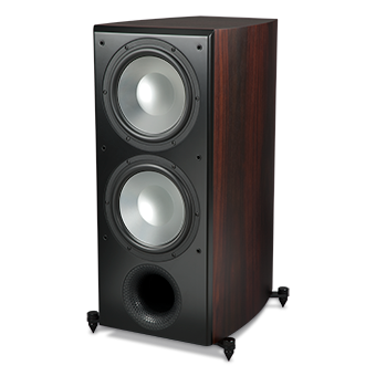 SX-1010P/R Powered Subwoofer, Sandalwood, without Grille