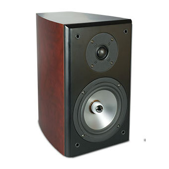 SX-61/R Bookshelf Speaker, Sandalwood, without Grille