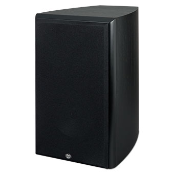 SX-61/R Bookshelf Speaker, Black, with Grille