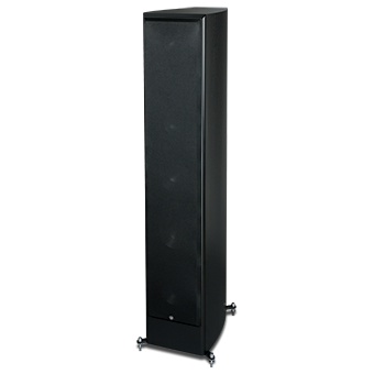 SX-6300/R Tower Speaker, Black, with Grille
