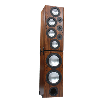 T-2 Tower Modular Speaker, South American Rosewood, without Grille