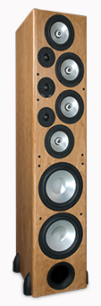 T-30LSE Tower Speaker, Maple, without Grille