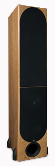 T-30LSE Tower Speaker, Maple, with Grille