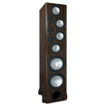 T-30LSE Tower Speaker, Macassar Ebony, without Grille
