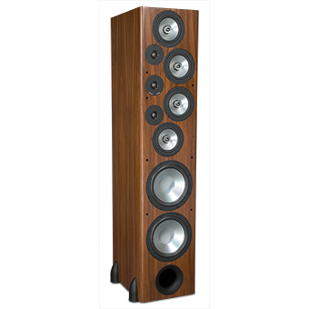 T-30LSE Tower Speaker, South American Rosewood, without Grille