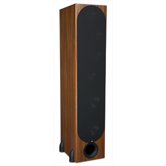 T-30LSE Tower Speaker, South American Rosewood, with Grille