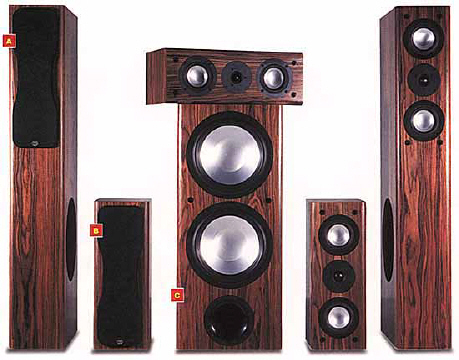 Rbh home theater speaker system review by home theater magazine usually a speaker system doesnt evoke these kinds of feelings but the new system from rbh does although rbh has been around for a while sciox Choice Image