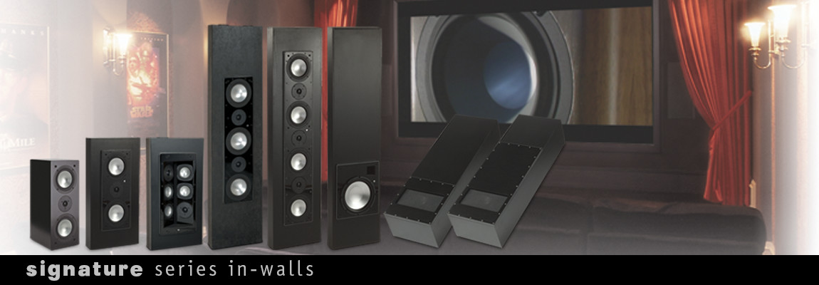Signature Series In-wall Speakers
