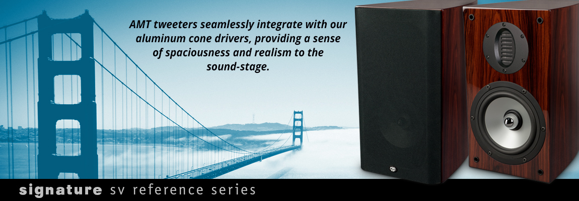Impression Series AMT Tweeters Seamlessly Integrate with Aluminum Woofers