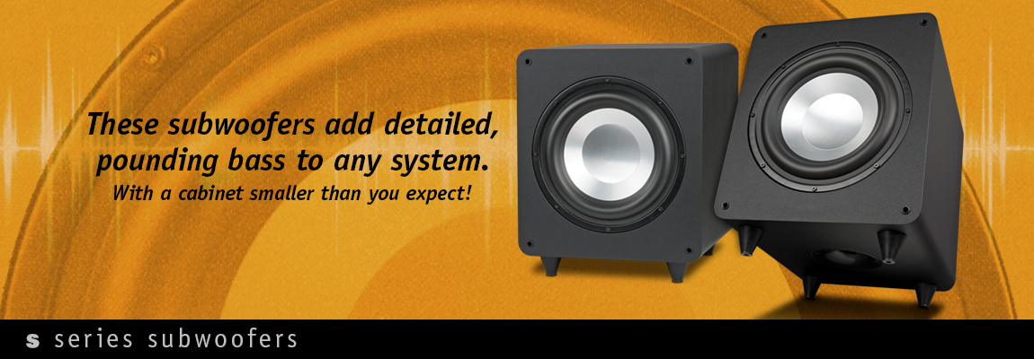 S Series Powered Subwoofers