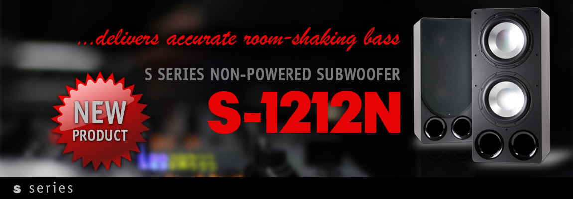 S Series Subwoofers
