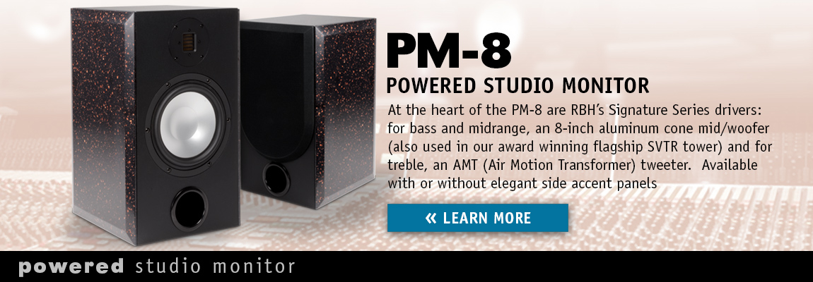 PM-8 Powered Studio Monitor